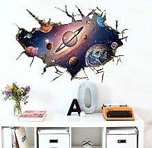Wandaufkleber Astronaut Wandkunst Aufkleber