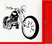 Wandaufkleber Aufkleber Bike Chopper Motorrad Rock