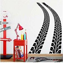 Wandaufkleber Aufkleber Reifen Track Wohnkultur