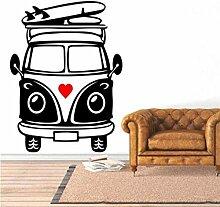 Wandaufkleber Aufkleber Tapete Cartoon Wohnmobil