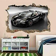 Wandaufkleber Auto Wandkunst Aufkleber Wandbild
