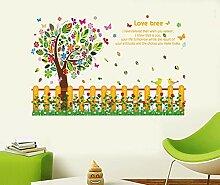 Wandaufkleber Baseboard Baum Kindergarten