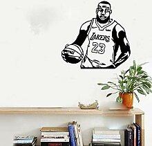 Wandaufkleber, Basketball Wandaufkleber Wohnkultur