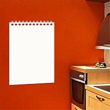 wandaufkleber baum Whiteboard Design Notebook für