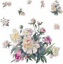 Wandaufkleber Blumenstrauß