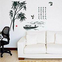 Wandaufkleber Chinesischen Schriftzeichen Stil