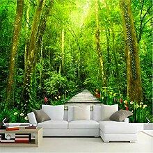 Wandaufkleber Customized 3D Natur Wald Tapete
