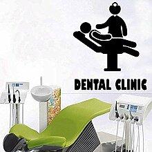 Wandaufkleber Dental Wanddekoration Abziehbilder