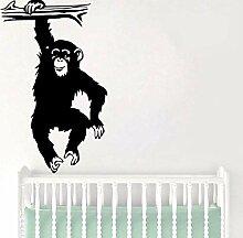 Wandaufkleber Diy Gorilla Wandaufkleber Wohnkultur