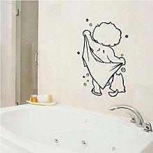 Wandaufkleber dusche glastür aufkleber kinder bad