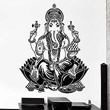 Wandaufkleber Elefant Ganesh Buddhismus Indian