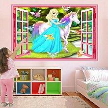 Wandaufkleber Fairy Princess Fantasy Wandaufkleber
