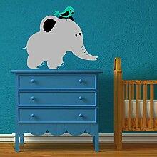 wandaufkleber fenster Elefant für Kinderzimmer