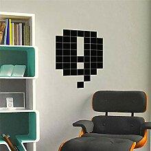 wandaufkleber flur Geometrisch für Wohnzimmer