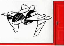 wandaufkleber gaming Alien Fighting Spaceship Cool