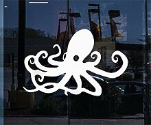 wandaufkleber gaming Fensterbild und Octopus Ocean