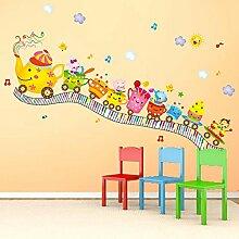 Wandaufkleber hause kindergarten klassenzimmer