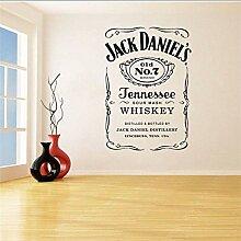 Wandaufkleber Jack Daniels Wandtattoos Jd