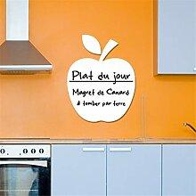 wandaufkleber katze Whiteboard Apple Für
