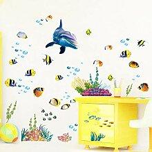 Wandaufkleber Kinderzimmer 3D Badezimmer