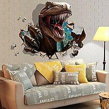 Wandaufkleber Kinderzimmer Dinosaur Assault