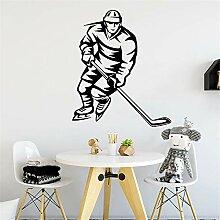Wandaufkleber Kinderzimmer Fototapete Hockey