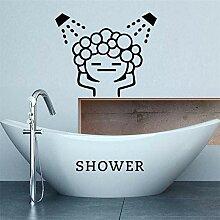 Wandaufkleber Kreative Baby Liebe Dusche Blase