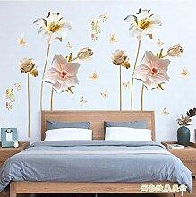Wandaufkleber Kreative Chinesischen Stil Orchidee