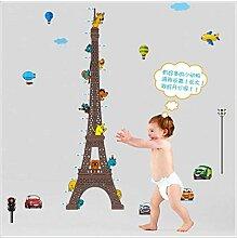 Wandaufkleber Kreative Eiffelturm Höhe Aufkleber