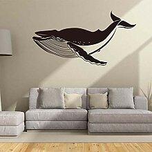 Wandaufkleber Kreative Geschnitzte Große Fische