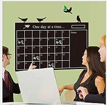 Wandaufkleber Küche Pvc Umwelt Kalender Aufkleber