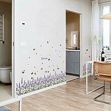 Wandaufkleber Lavendel Baseboard Küche Home Decor
