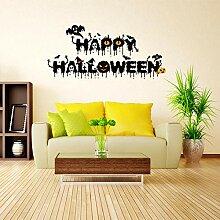 Wandaufkleber Mode Kreative Halloween Crow Imp.