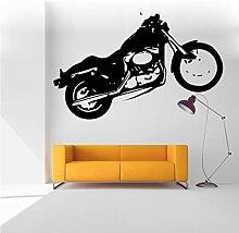 Wandaufkleber Motorrad Graffiti Fahrrad Aufkleber
