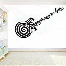 Wandaufkleber Musikinstrumente Gitarre Diy