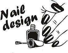 Wandaufkleber Nail Art Design Vinyl Aufkleber und