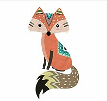 Wandaufkleber Niedlichen Tribal Fox Pvc Cartoon