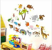 Wandaufkleber Schlafzimmer Dekoration Kinder