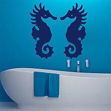 Wandaufkleber Schlafzimmer Seepferdchen Badezimmer