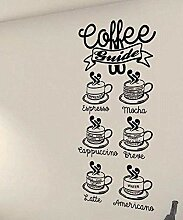 wandaufkleber spruch disney Kaffee-Führer;