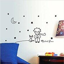 Wandaufkleber Sterne Mond Der Kleine Prinz Boy