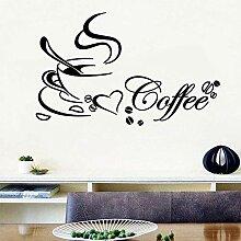 Wandaufkleber Tattoo Küche Küche Küche Kaffee