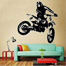 Wandaufkleber und Wandbilder Design Motorrad Vinyl