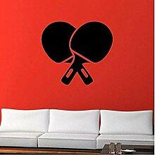 Wandaufkleber und Wandbilder Tischtennis Ping Pong