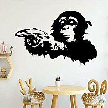 Wandaufkleber Wandbild Exquisite Gorilla Cartoon