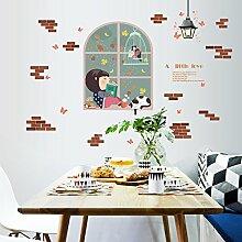 Wandaufkleber Wandbild Tapete Aufkleber