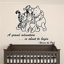 Winnie Pooh Wandbild Gunstig Online Kaufen Lionshome