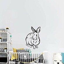 Wandaufkleber Wandtattoos Nettes Kaninchen Baby