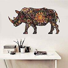 Wandaufkleber Wandtattoos Rhino Home Decor