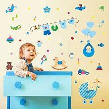 Wandaufkleber warme Babyzimmerdekorationen